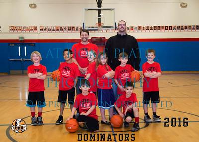 Centennial Basketball Sports - Dominators