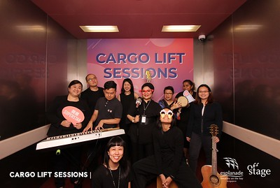 Esplanade - Cargo Lift Sessions