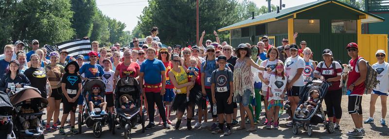 2016 CASA and Susanville Police Superhero 5K