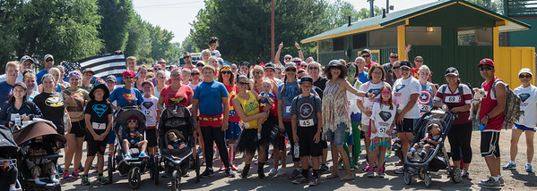 2016 CASA and Susanville Police Superhero 5K