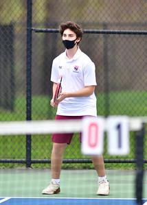 FGS Boys Varsity Tennis vs Millbrook 4-17-21