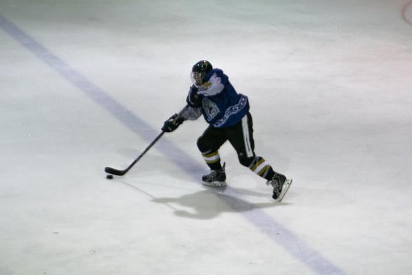 Hatfield Ice Dogs 16A White at Grundy Senators Black 9-7-2013