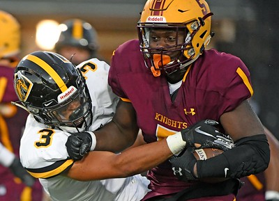 Football: Las Lomas makes statement with win over NCS champs
