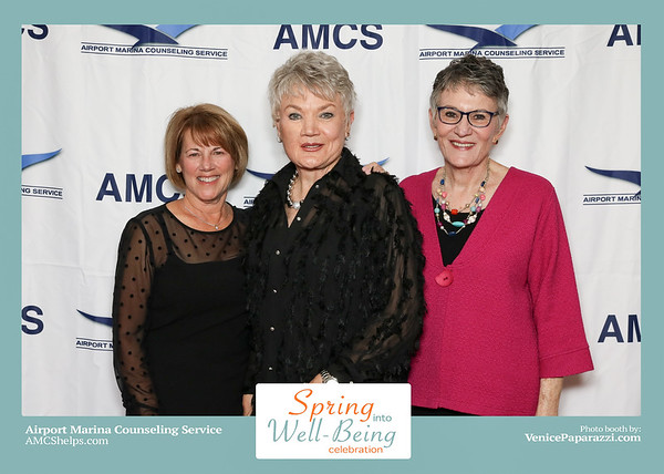 2019 Photo Booth  photos for AMCS's Spring into Well-Being Celebration
