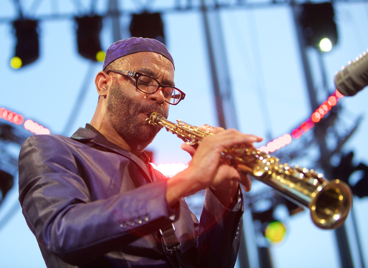 Kenny Garrett at Jazz à Juan on 2015 5