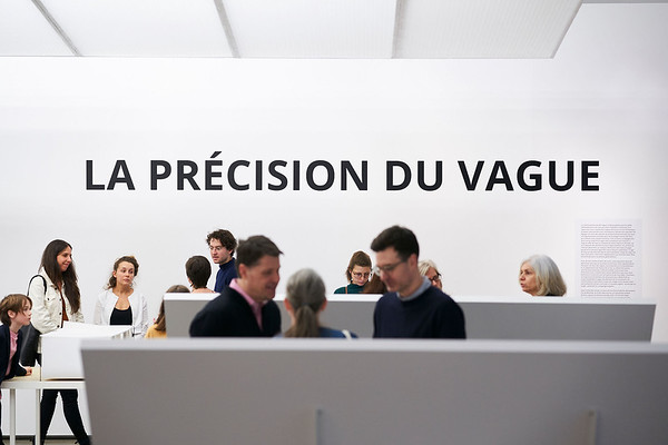 LA PRÉCISION DU VAGUE _ Vernissage