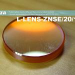 SKU: L-LENS-ZNSE/20/1016, Φ20mm ZnSe (Zinc Selenide) Lens FL 101.6mm with Two Sides Anti-Reflection ( AR/AR ) Coating for CO2 Laser Beam