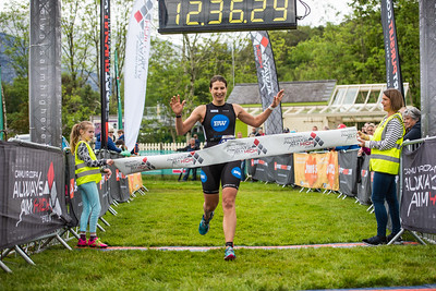 Sportpursuit Slateman Triathlon - Classic Run Finish