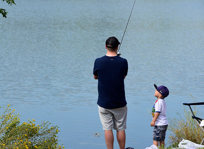 Photos: A Day of Fishing at Golden Ponds