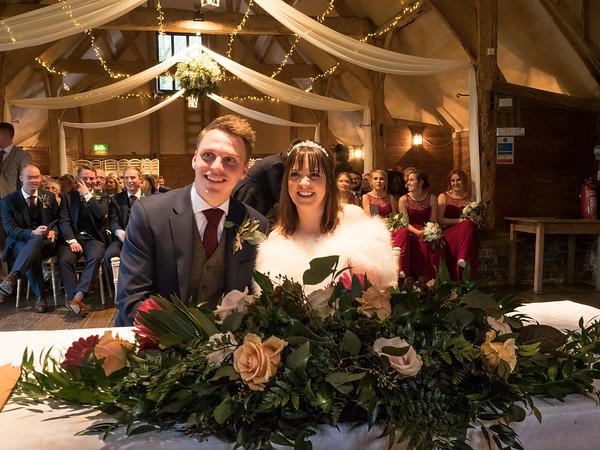 Becky and Ashley Wedding 2017