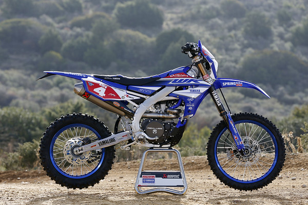 Yamaha Enduro Team Shooting 2018 - Larrieu Statics