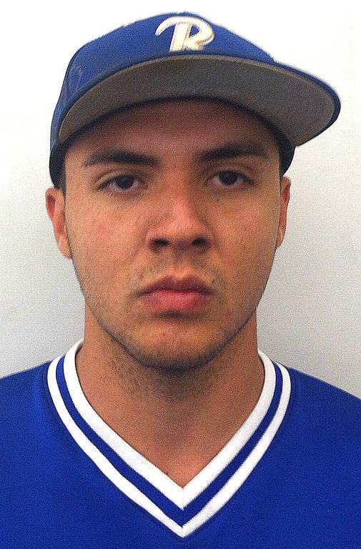 . Charles Escobar has been named to The Sun\'s All Area baseball team. Escobar plays for Rialto High School. Courtesy photo to The Sun.