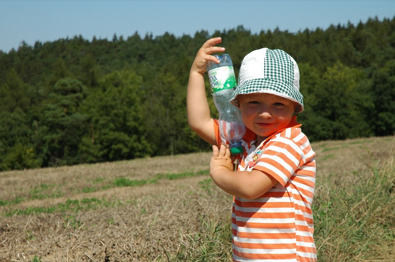 Child on the Countryside - Prague, Czech Republic