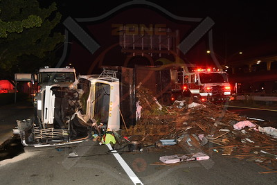 Bellmore F.D. MVA w/ Overturn  Sunrise Hwy. and St. Marks Ave. 8/4/21