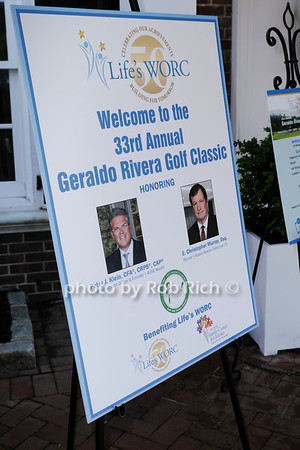 May 17, 2021: 33rd. Annual Geraldo Rivera Golf Classic reception benefitting Life's WORC at the Old Westbury Country Club honoring Peter J. Klein & E.Christoper Murray.   photo by Rob Rich/SocietyAllure.com ©2021 robrich101@gmail.com 516-676-3939