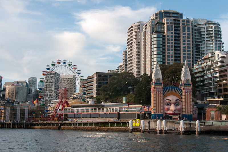 Luna Park Sydney in Sydney, Australia