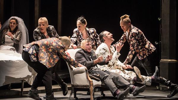l'opéra de quatre sous, Comédie