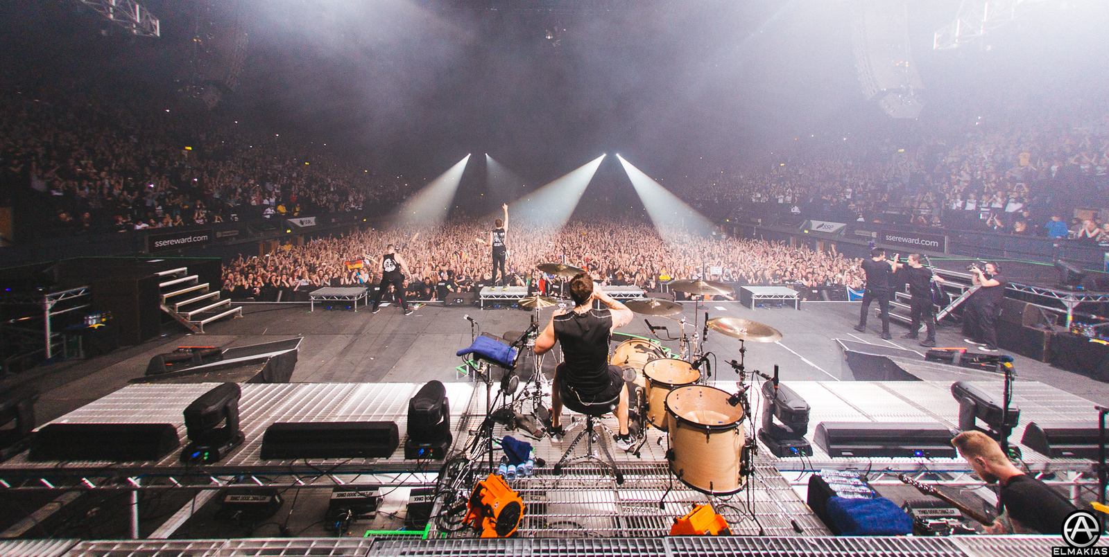 Full house All Time Low at Wembley Arena in London
