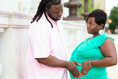 Brandi,  Dario and Leilah Carter - Maternity