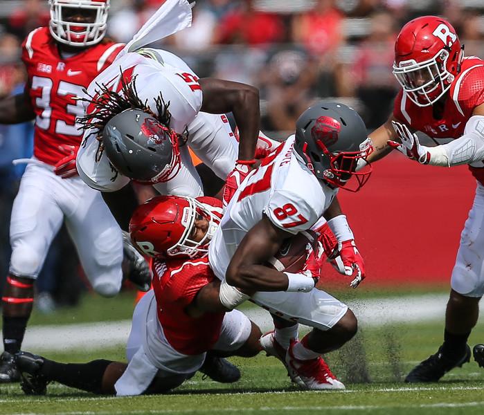 NCAA Football  2016:  New Mexico Lobos vs Rutgers Scarlet Knights Sep 17