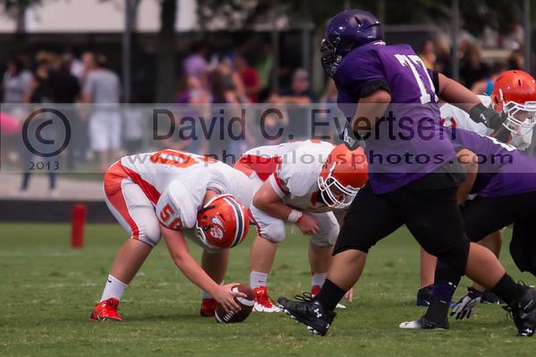 Boone Junior Varsity Football #50 - 2013