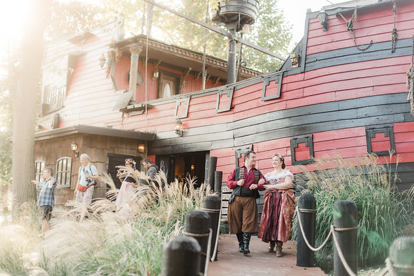 Kaitlyn and Justin's Engagement at the Pennsylvania Renaissance Faire