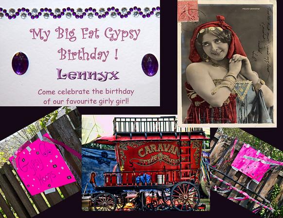 Lennyx 1st Gypsy Birthday