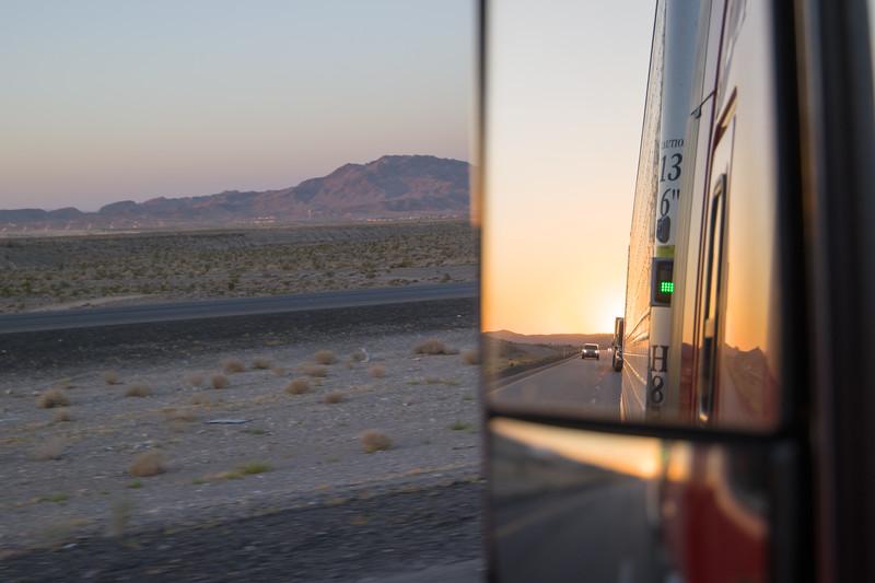 Nevada Sunrise I-15