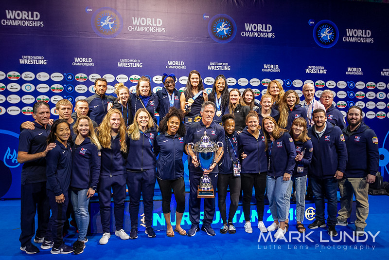 Team USA Womens Wrestling 3rd Place - 2019 World Championships