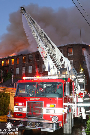 4 Alarm Mill Fire - 273 Canal St, Shelton, CT - 6/13/20