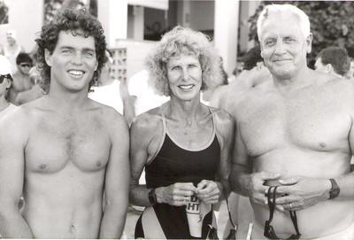 1990 Waikiki Roughwater Swim 9-3-1990