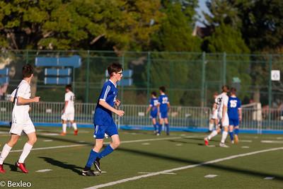 JV Soccer Boys vs St Charles