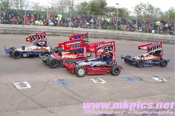 BriSCA F2 stockcars, Birmingham Wheels, 12 April 2014