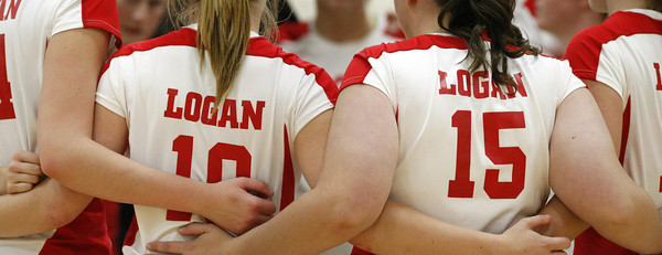Logan Invite:  Logan vs Lewiston-Altura VB11
