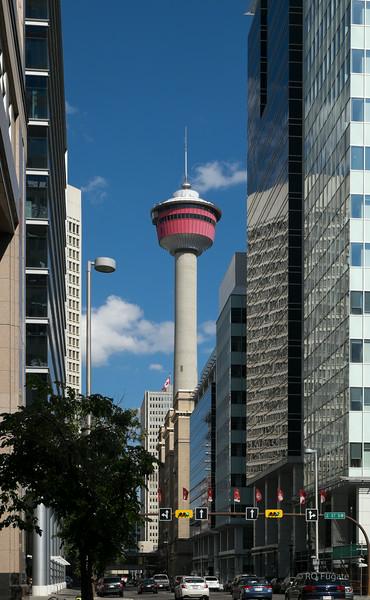 Calgary Tower - 525 meters high