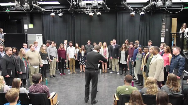 ECU Chamber Singers 2017