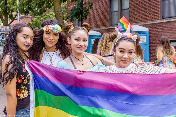 Pride Parade Chicago - June 25, 2017