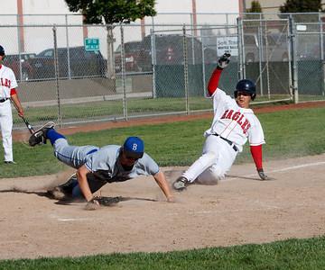 Boys' Varsity Baseball Playoffs vs Branson - May 22, 2009