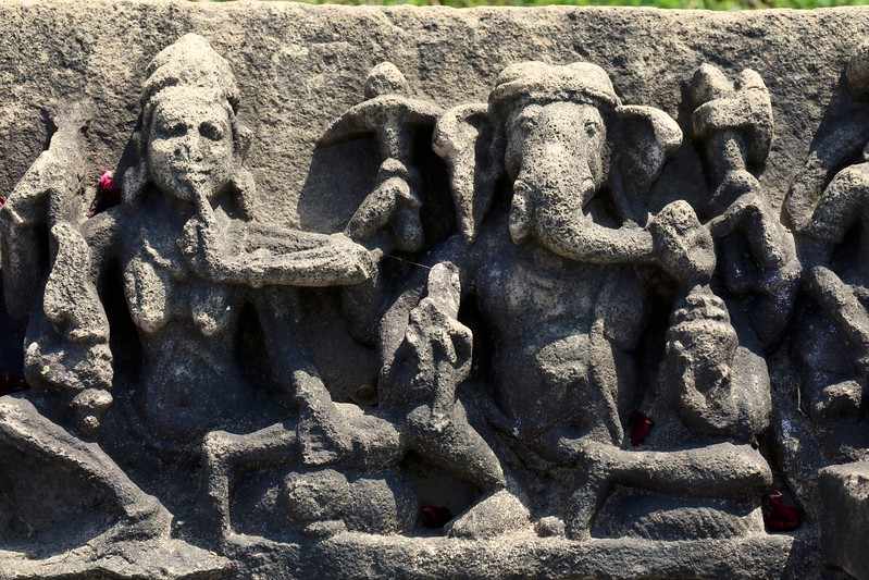10th century carvings at the Baroli Temple Complex