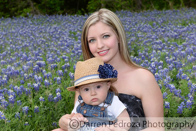 2014 Bluebonnets with Cheyenne