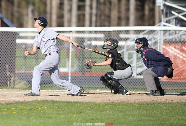 Dundee Baseball 4-27-16