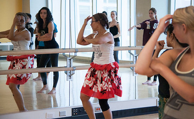 Introduction to Tahitian Dance Workshop, Fall 2015