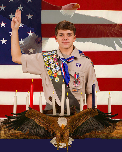 Troop 848 Eagle Scouts