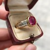 3.21ctw Burma N-Heat Ruby Ring, by Mellerio 6