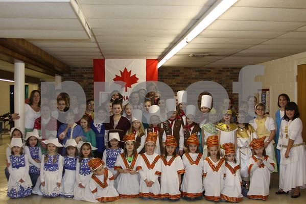 Girl Scouts International Tea - February 2011
