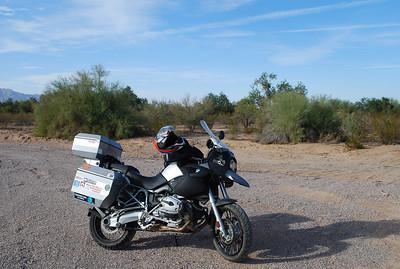 Sonoran Desert at Park Links Nov 22, 2008