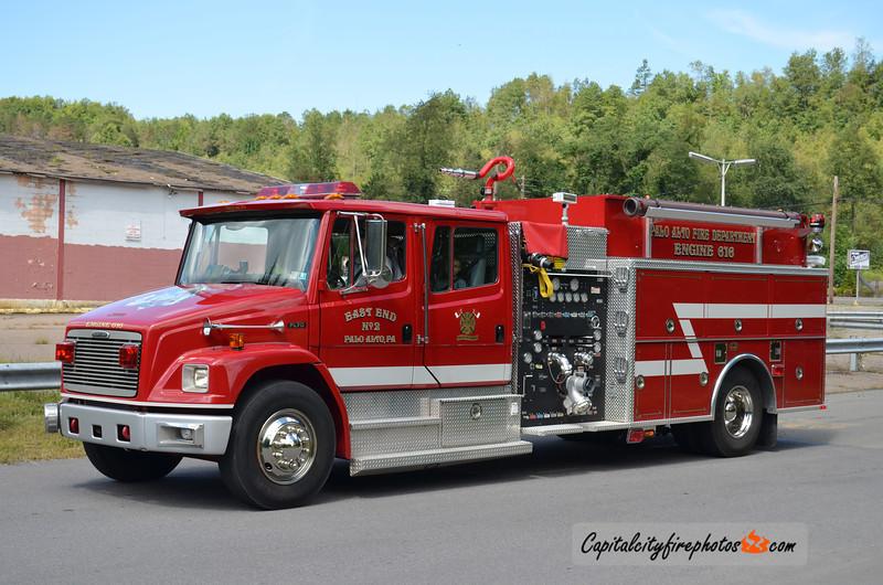 Palo Alto (East End Fire Co. 2) Engine 616: 1999 Freightliner/KME 1250/1000