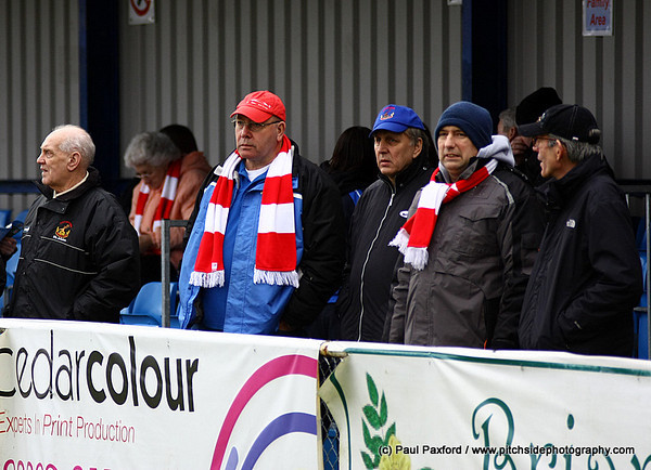 Eastleigh 1 Chasetown 3  FA Trophy  5/2/11
