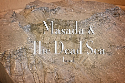 2016-04-10 - Masada & the Dead Sea, Israel