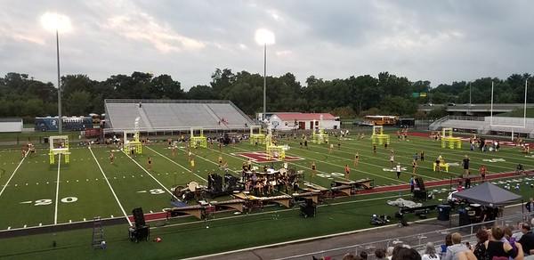 2018-07-31 Bluecoats Newark Rehearsal
